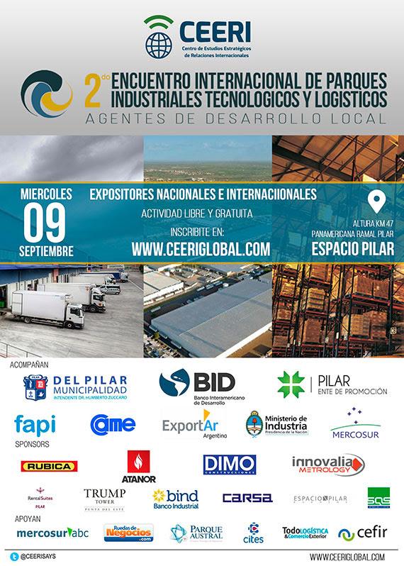 2do Encuentro Internacional de Parques Industriales, Tecnológicos y Logísticos